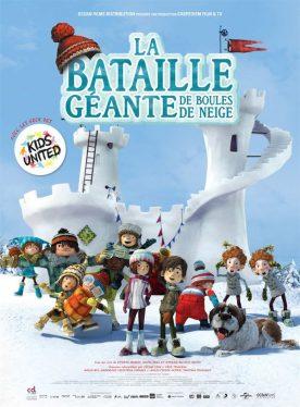 Affiche du film La bataille géante de boules de neige (version française de La guerre des tuques 3D)