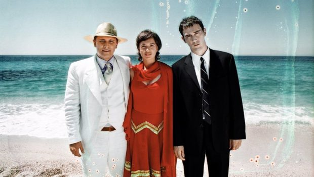 Image publicitaire du film Littoral de Wajdi Mouawad (2004) - la famille recomposée
