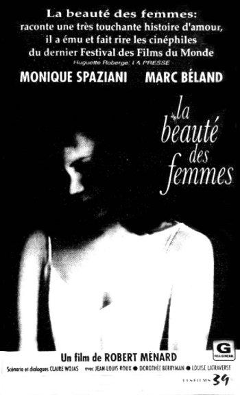 Encart presse du film La beauté des femmes (collection filmsquebec.com)