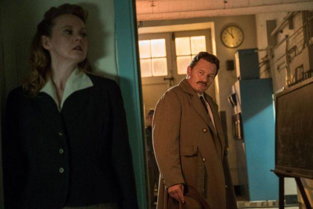 Lucille Fluet et Mark-Anthony Krupa dans Le cyclotron (FunFilm Distribution)