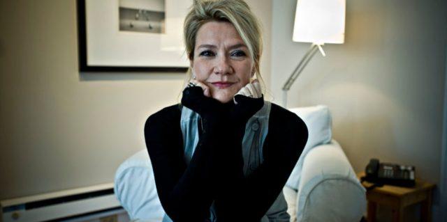 La comédienne Élise Guilbault. Photo Luc Laforce (Rue Frontenac)