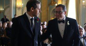 Paul Doucet et Gabriel Sabourin dans C'est le coeur qui meurt en dernier d'Alexis Durand-Brault (crédit photo Bertrand Calmeau)