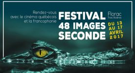 Visuel du Festival 48 images seconde 2017