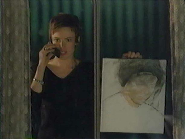 Pascale Bussières dans Souvenirs intimes de Jean Beaudin (image extraite du film - Collection filmsquebec.com)
