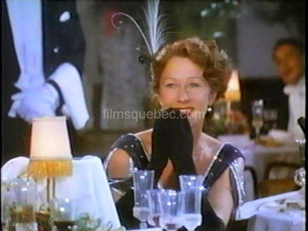 Helen Mirren dans Bethune: The Making of a Hero de Phillip Borsos (image extraite du film - Collection filmsquebec.com)