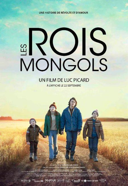 Affiche du film Les rois mongols de Luc Picard créée par l'équipe du studio design La Camaraderie