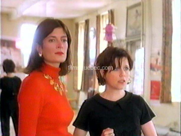 Image de Pascale Montpetit et Anne-Marie Cadieux dans Le coeur au poing de Charles Binamé