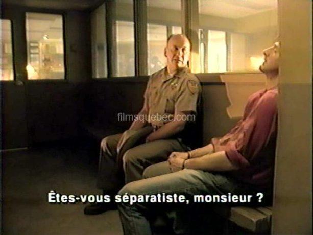 Luc Picard et Serge Houde dans Le dernier souffle de Richard Ciupka (image extraite du film)