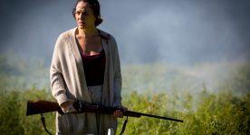 Monia Chokri dans le film Les Affamés de Robin Aubert (Crédit photo Emmanuel CROMBEZ)