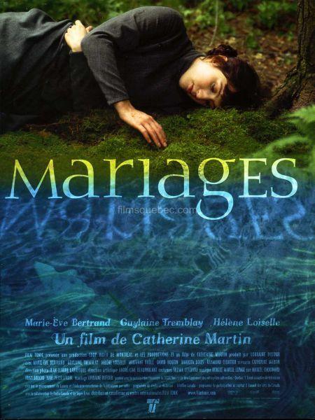 Affiche du film Mariages de Catherine Martin (2001)
