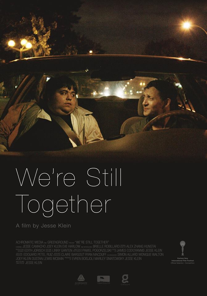 Affiche du film We're Still Together réalisé par le montréalais Jesse Klein (©Achromatic Media)