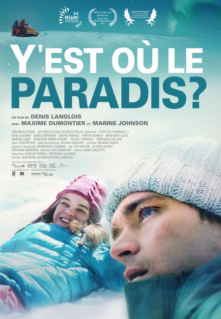Affiche du film Y'est où le paradis?