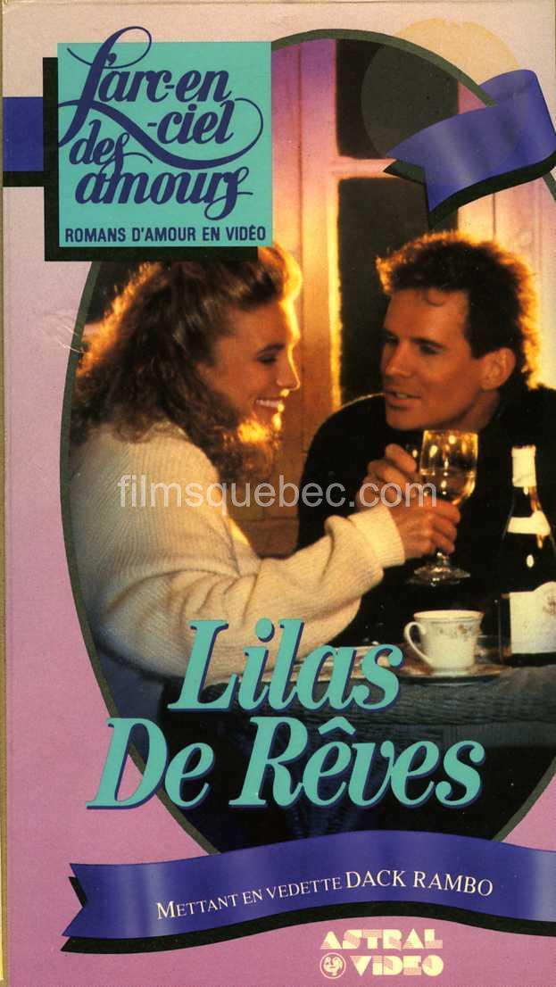 """Pochette de la VHS de Lilac Dream (""""Lilas de rêves"""")"""