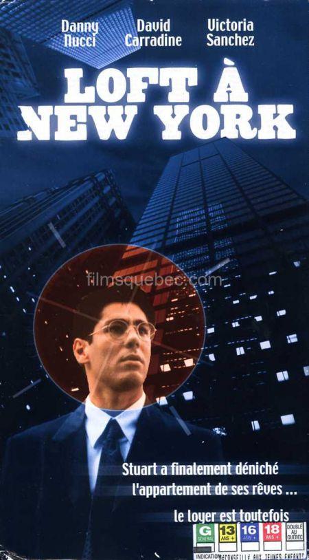 Pochette VHS du film Loft à New York (Sublet) de John Hamilton - Collection filmsquebec.com - Reproduction interdite sans autorisation
