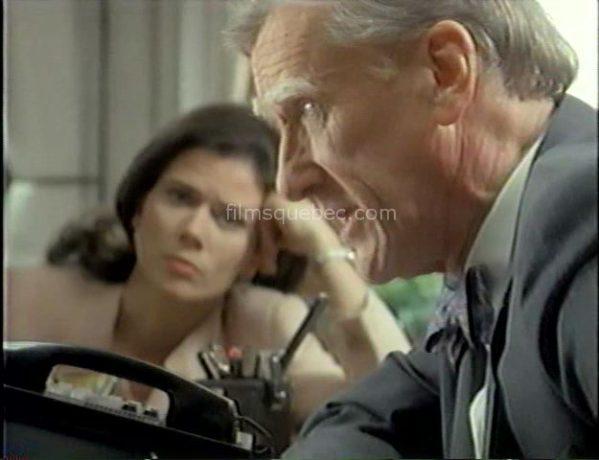 Marina Orsini et Donald Moffat dans The Sleep Room (Le pavillon de l'oubli) de Anne Wheeler - Un avocat et son assistante tentent de faire la lumière sur les événements
