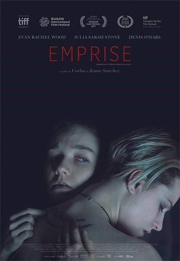 Affiche du film de Carlos et Jason Sanchez, EMPRISE (ALLURE en version originale anglaise)