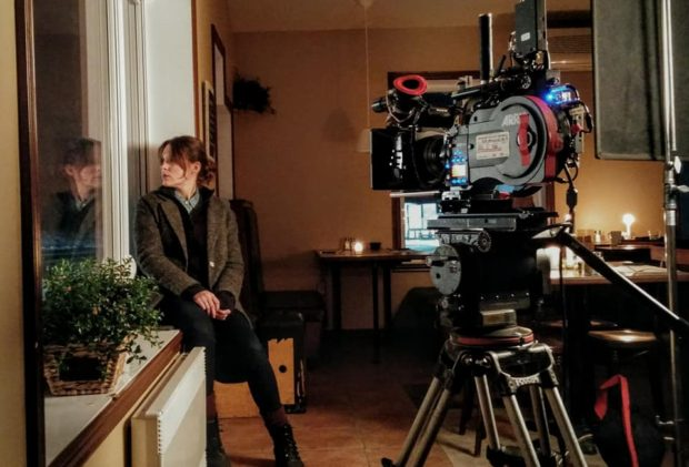 Photo de tournage du film Répertoire des villes disparues (Source : page Facebook du film)