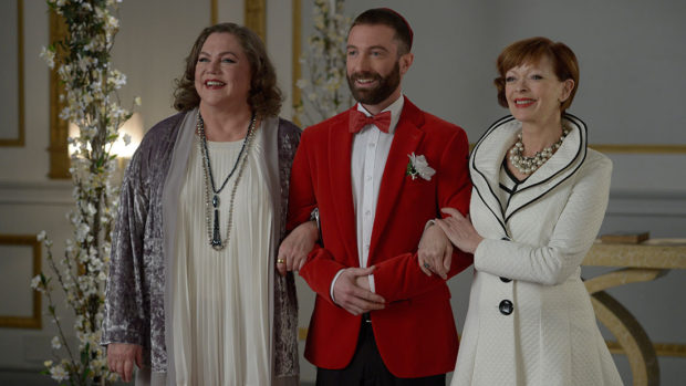 Kathleen Turner, Jacob Tierney et Frances Fisher dans Another Kind of Wedding