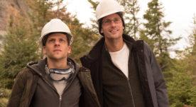 Jesse Eisenberg et Alexander Skarsgård dans The Hummingbird Project de Kim Nguyen (source : TIFF)