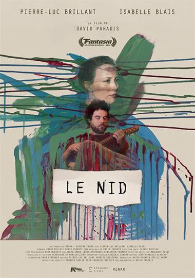 Affiche du film Le nid de David Paradis