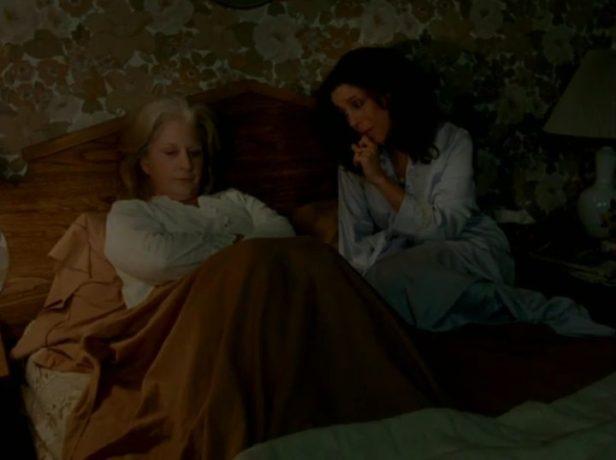 Céline Lomez et Charlotte oisjoli dans Ca peut pas être l'hiver, on n'a même pas eu d'été de Louise Carré (image extraite de la bande annonce du film)