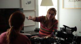 Tournage du film Apapacho – une caresse pour l'âme - Sur la photo : Marquise Lepage (crédit : Pierre-Luc Junet)