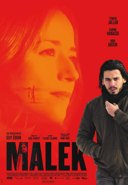 Affiche de Malek, un film de Guy Édoin, en salle le 18 janvier 2019