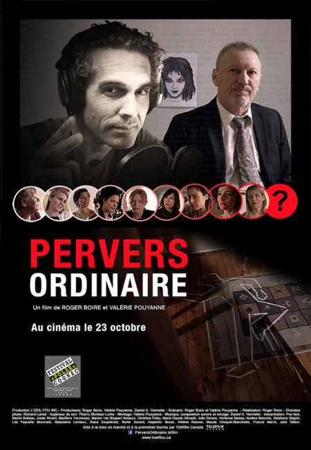 Affiche du film Pervers ordinaire de Roger Boire