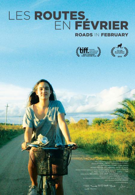 Affiche du film Les routes en février de Katerine Jerkovic (Axia Films)