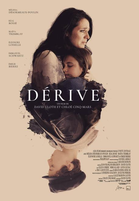 Dérive - affiche du film de David Uloth (en salle le 8 mars 2019)