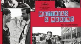 Affiche française du film Matthias et Maxime, huitième long métrage de Xavier Dolan