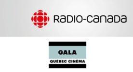 Logo Radio-Canada et Gala Québec Cinéma
