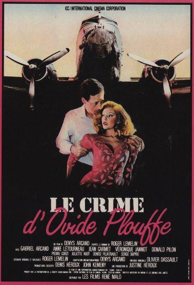 Affiche du film Le Crime d'Ovide Plouffe (Arcand, 1984)