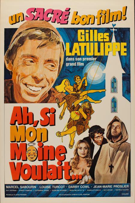 Affiche du film Ah! Si mon moine voulait... de Claude Pierson