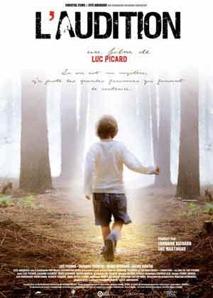 Affiche québécoise du film l'Audition
