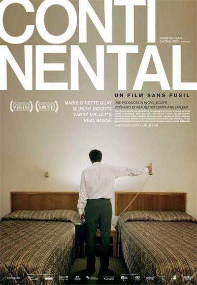 Affiche du film Continental un film sans fusil de Stéphane Lafleur (©Christal Films)