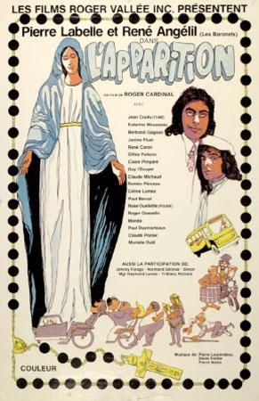 Affiche du film L'apparition (Roger Cardinal)