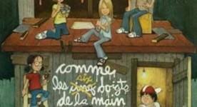 Affiche du film Comme les six doigts de la main d'André Melançon (Coll. Cinémathèque québécoise)