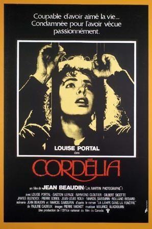 Affiche originale du film Cordélia (Jean Beaudin, 1979) - Collection Cinémathèque québécoise