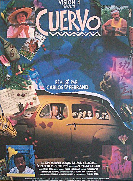 Affiche du film Cuervo de Carlos Ferrand