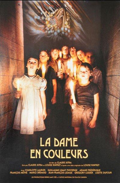 Affiche du film La dame en couleurs (Claude Jutra, 1985)