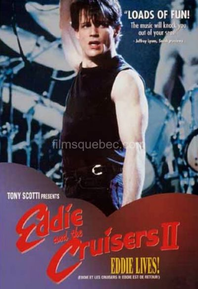 Pochette DVD du film Eddie and the Cruisers 2