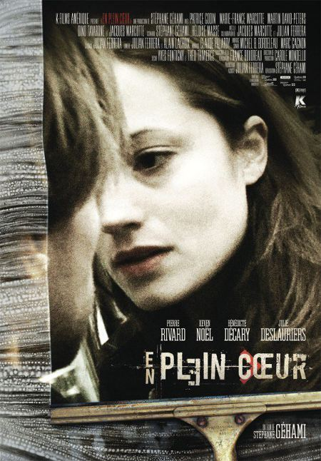 Affiche du film En plein coeur de Stéphane Géhami (dist. K-Films Amérique)