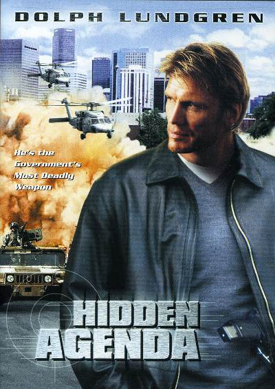 Pochette DVD de Hidden Agenda de Marc Grenier (Québec, 2001))