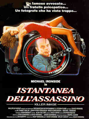 Affiche du film Istantanea dell'assassino, version italienne de Killer Image