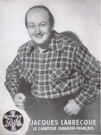 """Portrait du chanteur """"canadien français"""" Jacques Labrecque"""
