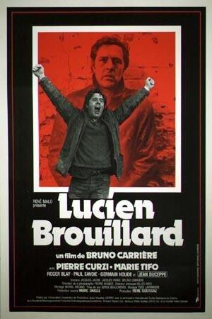 Affiche du film Lucien Brouillard (Carrière, 1983 - Affiche: Collection Cinémathèque québécoise)