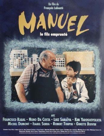 Affiche du film Manuel, le fils emprunté de François Labonté - ©EGM Productions