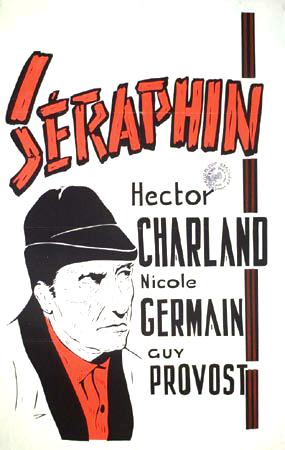 Affiche du film Séraphin de Paul Gury (Coll. Cinémathèque québécoise)