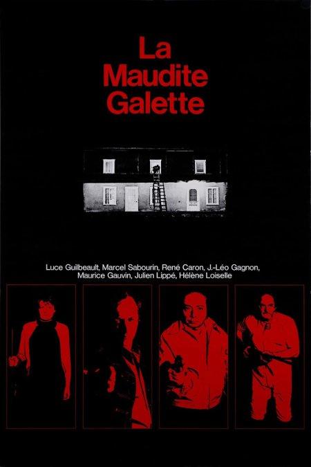 Affiche du film La maudite galette